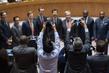 Scene at UN Headquarters in New York 5.9905596