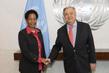 Secretary-General Meets Member of Parliament of Tanzania 2.8598704