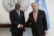 Secretary-General Meets Foreign Minister of Benin 2.8598704