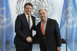 Secretary-General Meets Senator and Former Prime Minister of Italy 2.8598704