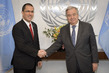 Secretary-General Meets Minister of People's Power for Foreign Affairs of Venezuela 2.860176