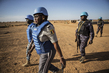 UN Police Patrol Menaka Region in North-East Mali 7.044653