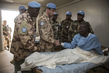 MINUSMA Force Commander Visits Site of Recent Attack on Peacekeepers 5.6397815