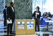 Scene at UN Headquarters in New York 11.26177