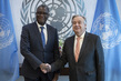 Secretary-General Meets Denis Mukwege, Medical Director of Panzi Hospital 2.8621821