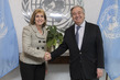 Secretary-General Meets Vice-Chair of US Water Partnership 2.8621821