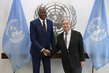 Secretary-General Meets Incoming Special Representative and Head of MINUSCA