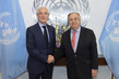 Secretary-General Meets Chairman of Global Steering Group for Impact Investment