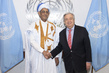 New Permanent Representative of Islamic Republic of Mauritania Presents Credentials 1.0