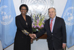 New Permanent Observer of Economic Community of Central African States Presents Credentials 1.0
