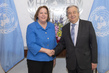 Secretary-General Meets Director of UNIC in Washington, D.C.