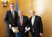 Secretary-General Receives Charlemagne Prize of Aachen 10.670724