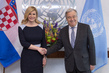 Secretary-General Meets President of Croatia 2.8632295