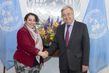 Secretary-General Meets Founder and Director of Peace Track Initiative 2.8632295
