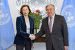 Secretary-General Meets Minister of Armed Forces of France