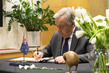 Secretary-General Signs Book of Condolences at Permanent Mission of New Zealand 1.0