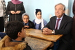 Secretary-General Visits UNRWA School 3.7782626