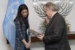 Secretary-General Meets Nobel Laureate and UNODC Goodwill Ambassador 2.859487