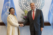 Farewell Call by Permanent Representative of Madagascar