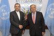 New Permanent Representative of Iran Presents Credentials
