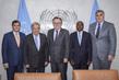 Secretary-General Meets with UN ECOSOC Ad Hoc Advisory Group on Development of Haiti 2.8565216