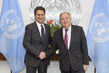 Secretary-General Meets Director-General of International Renewable Energy Agency