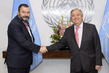 Secretary-General António Guterres Meets President of Global Alliance of National Human Rights Institutions