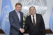 Secretary-General Meets World Bank Group Special Representative to the UN