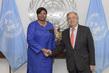 Secretary-General Meets Chief Prosecutor of International Criminal Court 2.856904