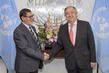 Secretary-General Meets Imam from Linwood Islamic Centre in New Zealand 2.856904