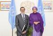 Deputy Secretary-General Meets Imam from Linwood Islamic Centre in New Zealand 7.22471