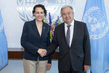 Secretary-General Meets Minister for Labour, Migration and Social Security of Spain 2.8577518