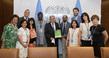 Secretary-General Meets Group of Civil Society Organizations Leaders 2.8576732