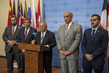 Chair of Arab Group Briefs Press after Security Council Meeting on Yemen 1.0