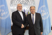 Secretary General meets with Minister for Foreign Affairs, Islamic Republic of Iran. 1.0