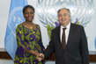 Secretary-General Meets Foreign Minister of Sierra Leone