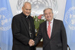 Secretary-General Meets Chancellor of Pontifical Academy of Science 2.8598623