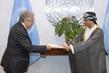 New Permanent Representative of Oman Presents Credentials 1.0