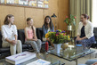 General Assembly President Meets Greta Thunberg and Climate Activists 8.889206