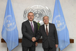 Secretary-General Meets Foreign Minister of Turkey 2.8601398