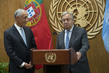 Secretary-General and President of Portugal Brief Press 12.013212