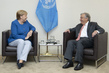Secretary-General Meets Chancellor of Germany