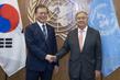 Secretary-General Meets President of Republic of Korea