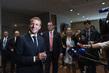 President of France Briefs Press
