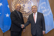 Secretary-General Meets President and Head of Government of Micronesia