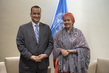 Deputy Secretary-General Meets Minister for Foreign Affairs of Mauritania 7.222018