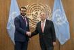 Secretary-General Meets National Security Advisor of Afghanistan 2.8594427