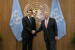 Secretary-General Meets Minister for Foreign Affairs of Turkmenistan 2.8594427