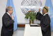 Secretary-General Swears in Judges for United Nations Dispute Tribunal 2.8590922