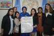 Deputy Secretary-General Meets International Day of Girl Child Participants 7.2229276